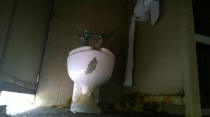 Toilet at Pier Park
