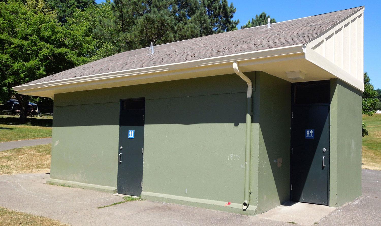 Gabriel Park restroom exterior