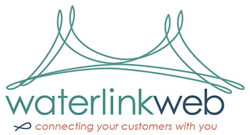 Waterlink Web logo - connecting your customers with you