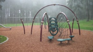 Playground climbing toy