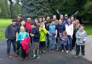 Volunteers at the 2014 Pier Park Pick-Up