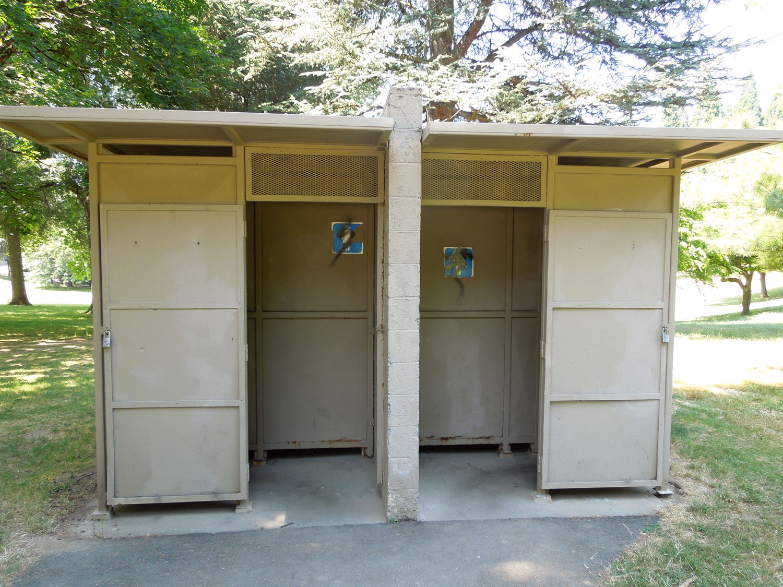 Pier Park restroom exterior