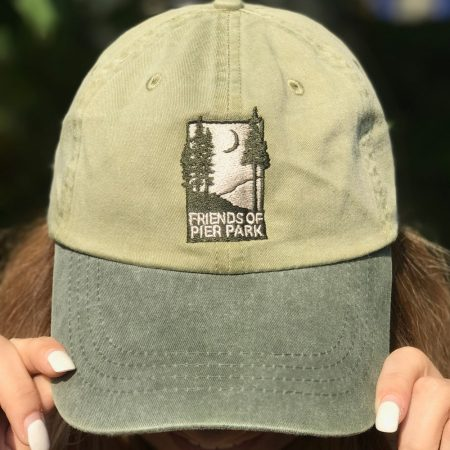 Friends of Pier Park hat with logo