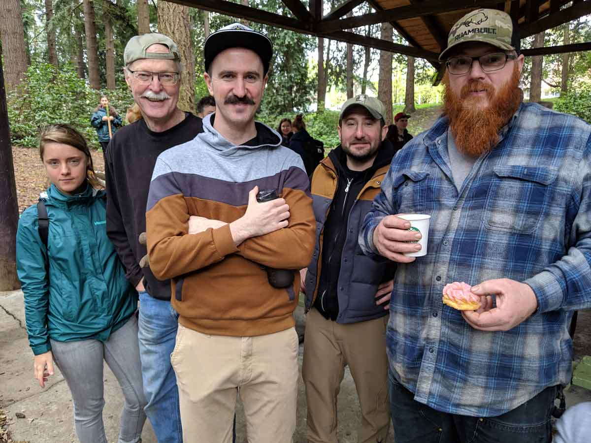 Stumptown Disc Golf Volunteers